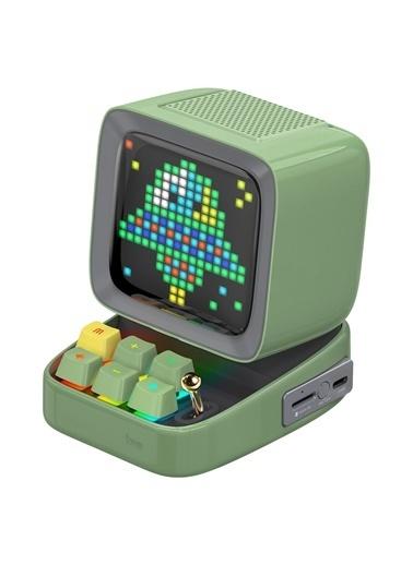 Divoom Divoom Ditoo Plus Yeşil Bluetooth Hoparlör Yeşil